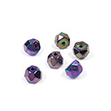 Preciosa Czech Glass Fire Polish Bead - Hill 06MM IRIS PURPLE