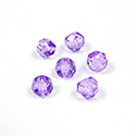 Preciosa Czech Glass Fire Polish Bead - Hill 06MM PURPLE