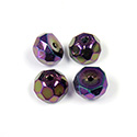 Preciosa Czech Glass Fire Polish Bead - Hill 08MM IRIS PURPLE