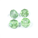 Preciosa Czech Glass Fire Polish Bead - Hill 08MM LT GREEN