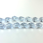 Chinese Cut Crystal Bead - Pear 09x5MM ALEXANDRITE