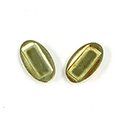 Brass Setting with 10x4MM Cushion Recess -OVAL RAW