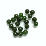 Gemstone No-Hole Ball - 05MM TAIWAN JADE