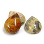 Gemstone Cabochon - Pear 20x15MM MEXICAN CRAZY LACE