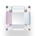 Swarovski Crystal Flat Back Fancy Stone - Square 03x3MM CRYSTAL AB
