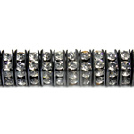 Czech Rhinestone Rondelle - Square 06MM CRYSTAL-BLACK