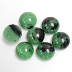 Gemstone Cabochon - Round 11MM ZOISITE RUBY