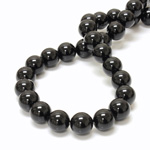 Gemstone Bead - Smooth Round 12MM BLACK ONYX