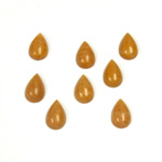Gemstone Cabochon - Pear 08x5MM YELLOW JASPER