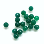 Gemstone No-Hole Ball - 06MM CHRYSOPHRASE