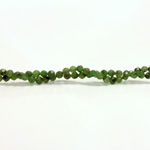 Gemstone Bead - Faceted Round 03MM TAIWAN JADE