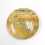 Gemstone Cabochon - Round 35MM MEXICAN CRAZY LACE