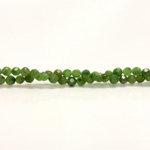 Gemstone Bead - Faceted Round 04MM TAIWAN JADE