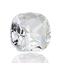 Swarovski Crystal Point Back Fancy Stone - Antique Square 10MM CRYSTAL