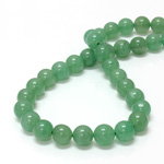 Gemstone Bead - Smooth Round 10MM AVENTURINE-GREEN