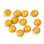 Gemstone Cabochon - Round 07MM YELLOW JASPER