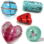 Lampwork and Millefiore Beads