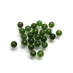 Gemstone No-Hole Ball - 04MM TAIWAN JADE