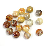 Gemstone Cabochon - Round 06MM MEXICAN CRAZY LACE