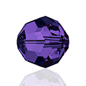 Swarovski Crystal Bead - Round 06MM PURPLE VELVET