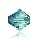 Swarovski Crystal Bead - Bicone 06MM BLUE ZIRCON