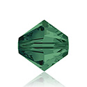 Swarovski Crystal Bead - Bicone 04MM EMERALD
