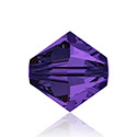 Swarovski Crystal Bead - Bicone 06MM PURPLE VELVET