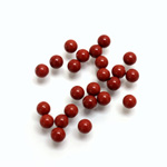 Gemstone No-Hole Ball - 04MM RED JASPER