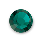 Asfour Crystal Flat Back Chaton Rose - 06SS EMERALD