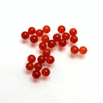 Gemstone No-Hole Ball - 04MM CORNELIAN
