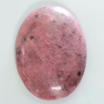 Gemstone Cabochon - Oval 40x30MM RHODONITE