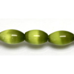 Cats Eye Oval Beads