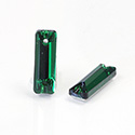Asfour Crystal Flat Back Sew-On Stone - Cushion 18x6MM EMERALD