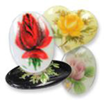 Glass Decal Picture Stones