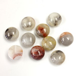 Gemstone Cabochon - Round 08MM MEXICAN CRAZY LACE