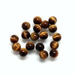 Gemstone No-Hole Ball - 06MM TIGEREYE