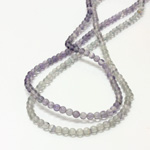 Gemstone Bead - Smooth Round 04MM FLUORITE
