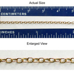 Brass Chain 1.4MM Round CABLE