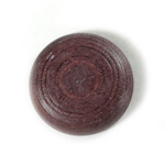 Plastic Flat Back Engraved Cabochon - Round 29MM INDOCHINE LILAC