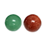 Gemstone No Hole Beads