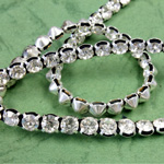 Rhinestone Banding with MC Chaton 1 Row - Round 19SS CRYSTAL SILVER BLACK