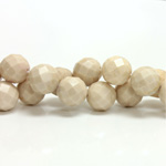 Gemstone Bead - Faceted Round 10MM RIVERSTONE