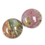 Gemstone Cabochon - Round 20MM FANCY JASPER
