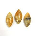 Gemstone Cabochon - Navette 20x10MM MEXICAN CRAZY LACE