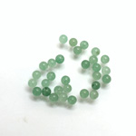 Gemstone No-Hole Ball - 03MM GREEN AVENTURINE