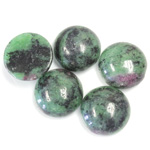 Gemstone Cabochon - Round 14MM ZOISITE RUBY