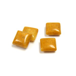 Gemstone Cabochon - Square 08x8MM YELLOW JASPER