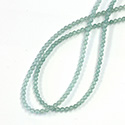 Gemstone Bead - Smooth Round 03MM AVENTURINE-LIGHT GREEN