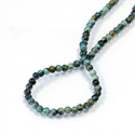 Gemstone Bead - Smooth Round 04MM AFRICAN TURQUOISE