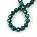 Gemstone Bead - Smooth Round 10MM MALACHITE